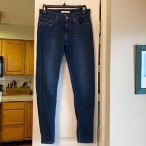 Levi 710 super skinny jegging Jean